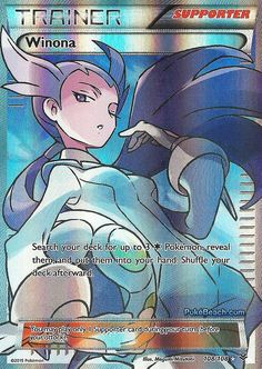 Winona 108/108 - FULL ART XY Roaring Skies PREORDER SHIPS 5/8 #Pokemon