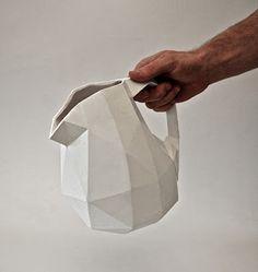 Christian Fiebig and Adrien Petrucci Ceramic Tableware, Ceramic Clay, Ceramic Pottery, Pottery Art, Trend Board, Xavier Veilhan, Paperclay, Ceramic Design, Design Elements