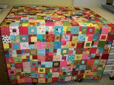 A Quilt A Week: Week Fourteen - Quilt Eleven - Charm Squares!