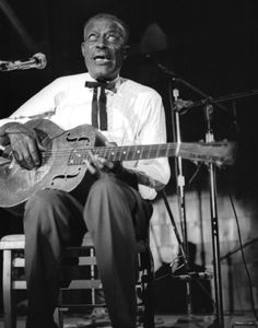 """Eddie James """"Son"""" House, Jr. (March 21, 1902 – October 19, 1988) was an American blues singer and guitarist. House pioneered an innovative style featuring strong, repetitive rhythms, often played with the aid of slide guitar, and his singing often incorporated elements of southern gospel and spiritual music."""