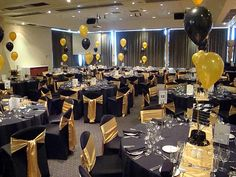 Possible Theme With The Black And Gold 75th Birthday Parties 50th Party
