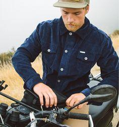 d989f3fc0ef Corduroy Rambler Jacket. Iron and Resin