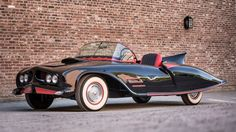The first official Batmobile ever built is headed to auction