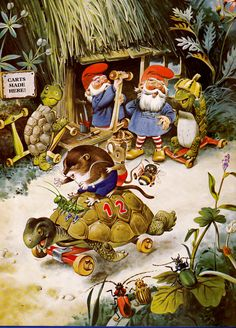 The Woodland Folk Meet the Gnomes by Tony Wolf