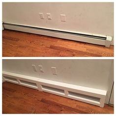 Work Around Baseboard Heating Yes Ideas House