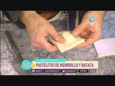 Pastelitos de membrillo y batata - YouTube