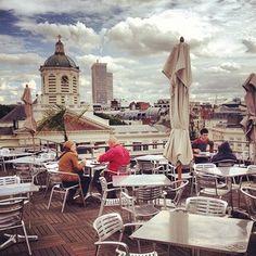 7 terrasses cachées dans le centre de Bruxelles - Elle magazine
