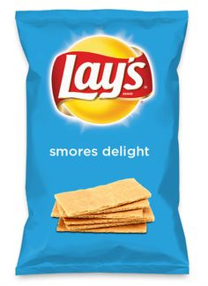 Wouldn't smores delight be yummy as a chip? Lay's Do Us A Flavor is back, and the search is on for the yummiest chip idea. Create one using your favorite flavors from around the country and you could win $1 million! https://www.dousaflavor.com See Rules.