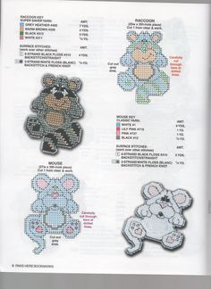 Paws Here Bookmarks Pg 5 Plastic Canvas Coasters, Plastic Canvas Ornaments, Plastic Canvas Christmas, Plastic Canvas Crafts, Plastic Canvas Patterns, Plastic Craft, Cross Stitch Kits, Cross Stitch Patterns, Needlepoint Patterns