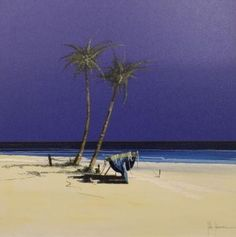 In The Shade by John Horsewell - Original artwork available at Love Art Gallery