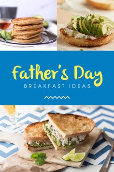 Celebrate Father's Day with our delicious and healthy recipes! Father's Day Breakfast, Avocado Breakfast, Breakfast Recipes, Avocado Recipes, Healthy Recipes, Avocados From Mexico, Brunch, Reap The Benefits, Fathers Day