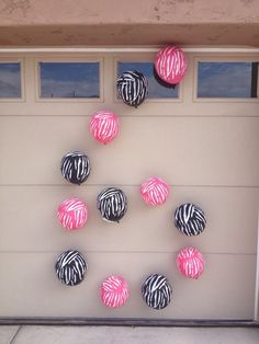 Have a BALLOON BIRTHDAY PARTY - Write age with balloons for baloon them party for kids