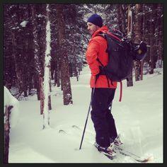Backcountry Skiing. Mt. Moosilauke NH