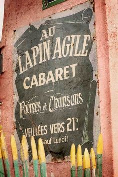 ♔audreylovesparis — Cabaret in Montmartre, Paris.