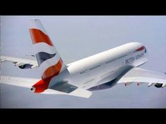 Amazing shots of Airbus A380 (British Airways) in HD - YouTube