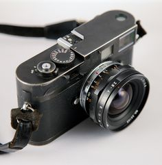 Leica M8 with Avenon 21mm f2.8 Limited Millenium Edition in Black by Zokyo Labs, Vintage camera #vintage #camera