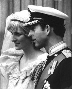 Their Royal Highnesses The Prince and Princess of Wales, on their Wedding Day - 29 July 1981