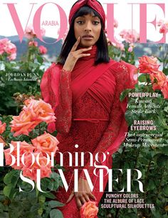 Supermodel Jourdan Dunn takes the cover of Vogue Arabia's July August 2017 edition captured by fashion photographer Cuneyt Akeroglu. Vogue Magazine Covers, Fashion Magazine Cover, Fashion Cover, Vogue Covers, Dark Man, Beyonce, Rihanna, Lineisy Montero, Vogue Photography