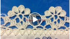 Crochet Blanket Edging, Crochet Edging Patterns, Crochet Lace Edging, Crochet Borders, Crochet Doilies, Hand Crochet, Crochet Flowers, Crochet Baby, Knitting Patterns