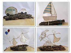 Das Bastelmonster: Figuren aus Draht und Papier