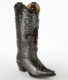 Corral boots from buckle.
