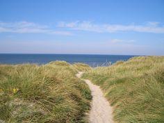 Blick über eine Düne in Dänemark, Sondervig von Pedi68