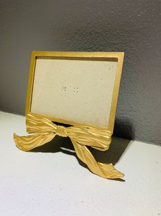 Photo Frame Gold Tone Metal Bow 6 x 7 Inches ELSA L. Inc. | Etsy Cute Bows, Picture Frames, Elsa, Vintage Items, Mirror, Metal, Gold, Pictures, Decor