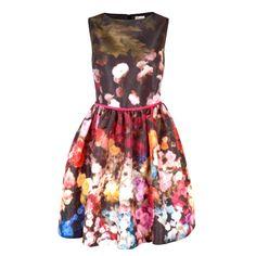 Robe à imprimé floral #REDValentino Floral Print Dress #OGILVY Signatures @La Maison OGILVY