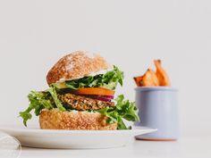 sieni-linssiburgerit / Hannan soppa