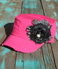 gypsy cowgirl western flower ball caps with rhinestones achieve that hippie cowgirl with this cowgirl cowboy hat at only $21.99