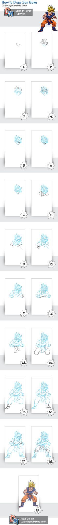 How to Draw Son Goku