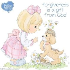 Pin by Denise Oseguera on Precious Moments Precious Moments Coloring Pages, Precious Moments Quotes, Precious Moments Figurines, Moment Quotes, Gift Of Faith, Inspirational Verses, Comic Pictures, Christian Messages, My Precious