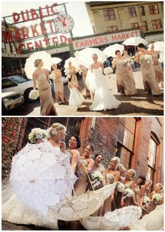 Pike Place Market wedding photo ideas by Azzura Photography