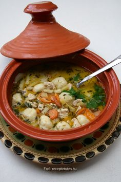 Soup Recipes, Diet Recipes, Vegan Recipes, Cooking Recipes, Clean Eating, Healthy Eating, Good Food, Yummy Food, Hungarian Recipes