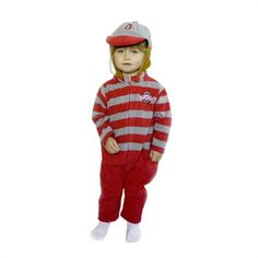 Ohio State Buckeyes MascotWear Infant/Toddler Mascot Fleece Outfit Ohio State Gear, Ohio State University, Ohio State Buckeyes, Infant Toddler, Kids Clothing, Scarlet, Kids Outfits, Clothes, Shopping