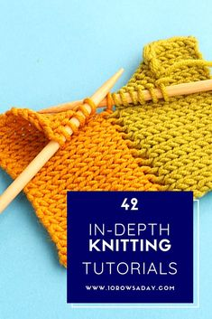 All Tutorials 2018 Club - Knitting for beginners,Knitting patterns,Knitting projects,Knitting cowl,Knitting blanket Knitting Terms, Easy Knitting, Knitting Stitches, Knitting Patterns, Knitting And Crocheting, Start Knitting, Sewing Projects For Beginners, Knitting For Beginners, Knitting Projects
