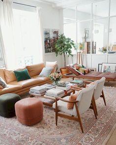 35 Fancy Bohemian Style Living Room Decor Ideas