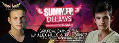 SUMMER DEEJAYS @Famous Summer Club - Satu Mare w/ Alex Hills & MC Tibi Lorincz #alexhills #tibilorincz #summerdeejays
