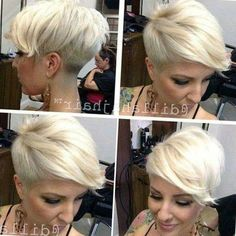 Today we have the most stylish 86 Cute Short Pixie Haircuts. We claim that you have never seen such elegant and eye-catching short hairstyles before. Pixie haircut, of course, offers a lot of options for the hair of the ladies'… Continue Reading → Edgy Pixie Hairstyles, Short Hair Undercut, Short Pixie Haircuts, Cute Hairstyles For Short Hair, Undercut Hairstyles, Short Hair Cuts, Short Hair Styles, Haircut Short, Undercut Women