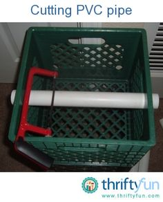 This is a guide about cutting PVC pipe. Whether you are putting in a sprinkler system, doing some plumbing, or using PVC for a craft project, knowing how to cut it successfully will ensure project success.