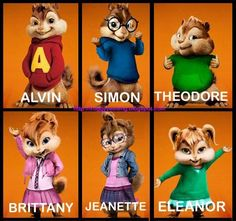 Watched Alvin and the Chipmunks 2: The Squeakquel !  Woohooooo~  I ♥ Chipmunks!  Theodore  is my favourite!  He's just too cute with his chu...