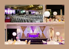 Indian wedding stage features