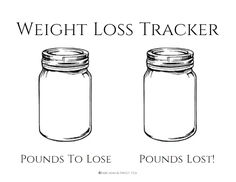 Weight Loss Tracker Planner