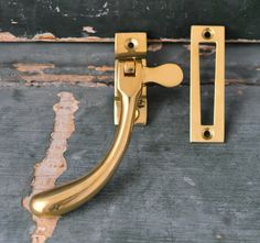 Reproduction unlacquered brass casement window lock. Made in the UK. & types of window locks and hooks - Google Search | lost girl ...