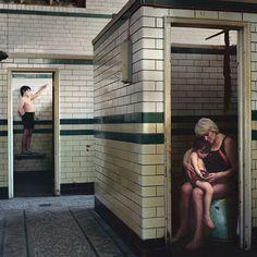 The Swimmers  by Attilio Fiumarella