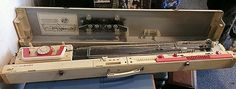 Toyota KS858 knitting machine and lace carriage great condition!