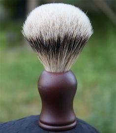 Rosewood Silvertip Shaving Brush!  #Shavingbrush Shaving Brush, Wet Shaving, Cologne, Beauty, Dibujo, Beauty Illustration