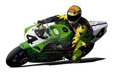 Scott Russell Kawasaki Ninja by *RacerTees on deviantART