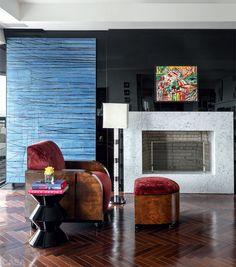 Apartamento chiquérrimo em Porto Alegre é cheio de obras de arte - Casa