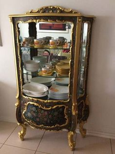 1000 images about vitrinas antiguas on pinterest - Muebles luis 15 ...